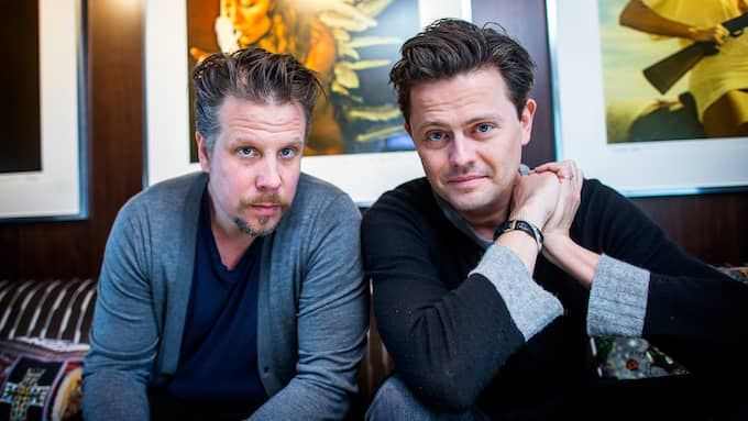 """Filip och Fredrik har fått kritik för sin långfilm """"Tårtgeneralen."""" Foto: ANDERS YLANDER/GT/EXPRESSEN"""