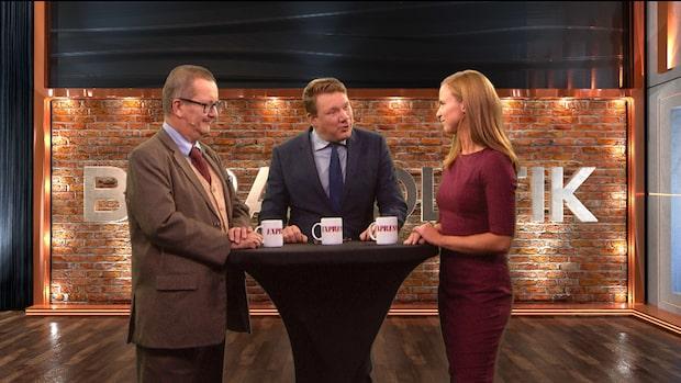 Bara politik 20 september: Se hela debatten Stig-Björn Ljunggren och Sara Skyttedal (KD)
