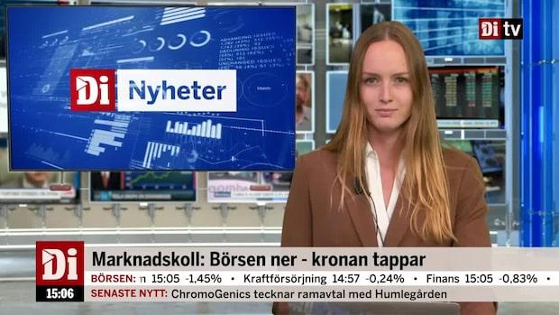 Nyheter 15.00: Handelskriget fortsätter tynga världens börser