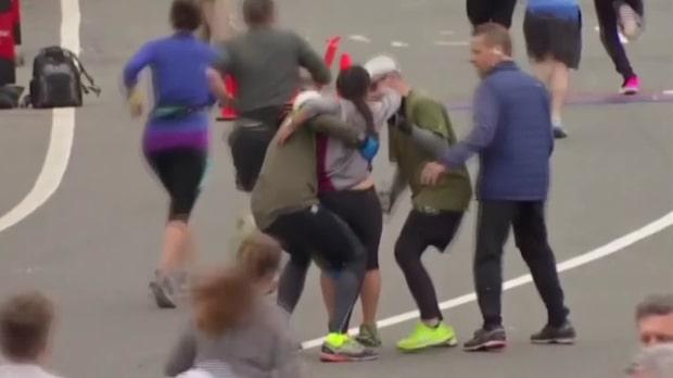 Här räddar de löparen från kollaps