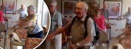 Här testar 10 pensionärer den populära dansen