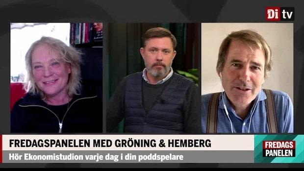 Fredagspanelen med Lotta Gröning och Claes Hemberg