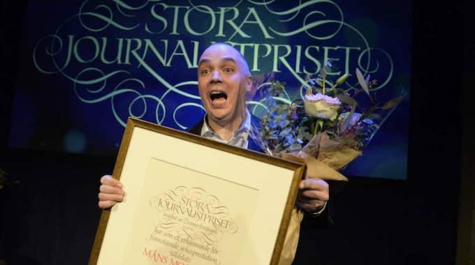 Måns Mosesson utsågs till Årets berättare.