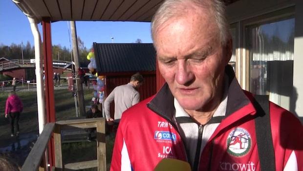 Lars Holmlunds oro inför Annas uppträdande