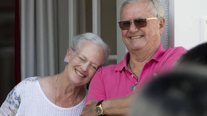 Drottning Margrethe och Prins Henrik. Foto: TIM ROOKE/REX REX FEATURES