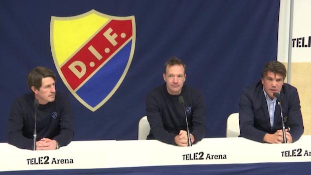 Kim Bergstrand och Thomas Lagerlöf tar över Djurgården