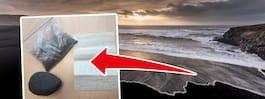 Ångerfulla turister gav tillbaka stulen sand i brev