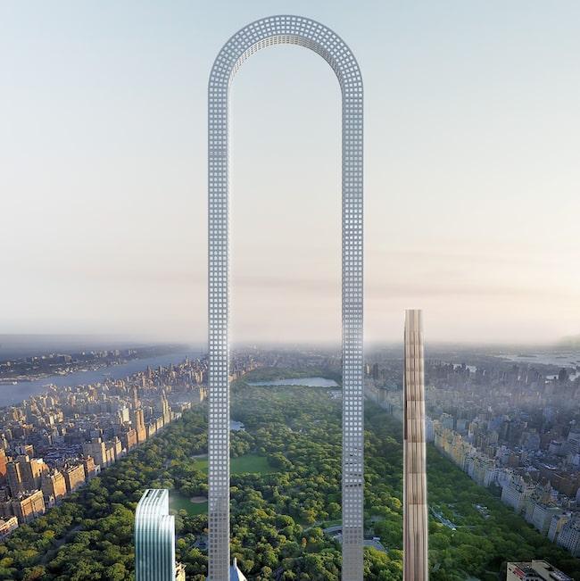"""""""The Big Bend"""" som den skulle kunna se ut, mitt på Manhattan."""