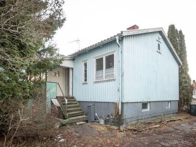 Så här såg huset ut innan det började renoveras.