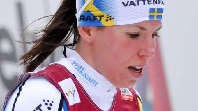 Charlotte Kalla Foto: Henrik Isaksson/Ibl