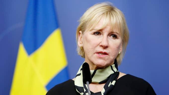 Det är hög tid för Sverige att omvärdera sin Israelpolitik, skriver ambassadör Ilan Ben-Dov. På bilden utrikesminister Margot Wallström. Foto: PATRIK C ÖSTERBERG/IBL