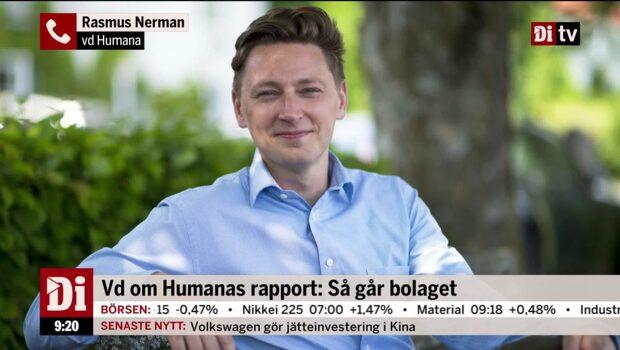 """Humanas vd: """"Högre konkurrens på marknaden"""""""