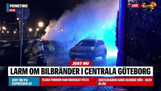 Bilbränder i Göteborg