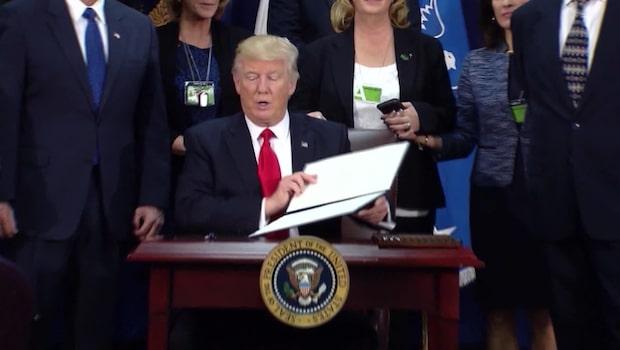 Donald Trump vill ge mer pengar till försvaret