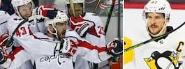 Hälsningen till Crosby efter avancemanget