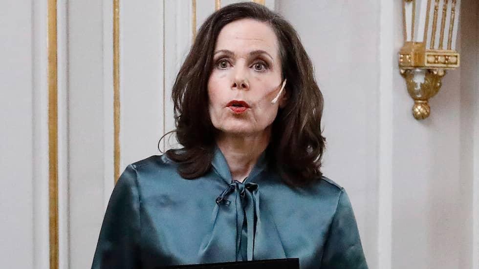 Ständiga sekreterare Sara Danius har under krisen lämnat sitt arbete. Foto: PATRIK ÖSTERBERG / IBL