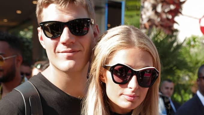 Chris Zylka och Paris Hilton. Foto: PRANDONI/BFA/REX/SHUTTERSTOCK / PRANDONI/BFA/REX/SHUTTERSTOCK REX FEATURES