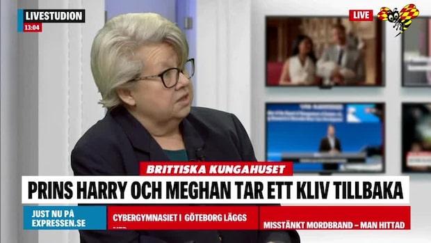"""Karin Lennmor: """"Det var rena bombnedslaget"""""""