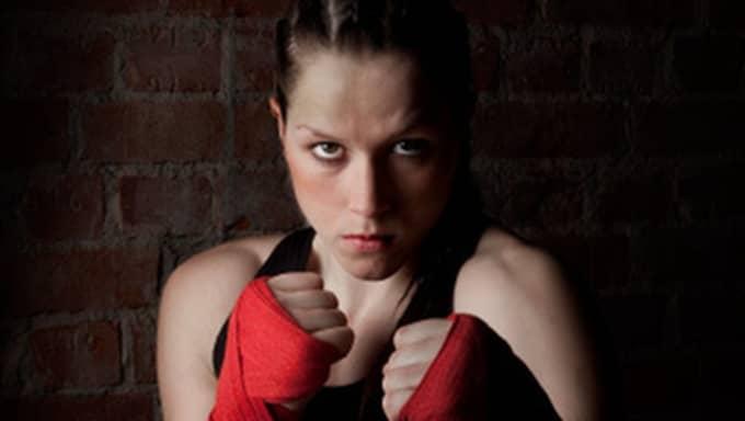 Världsmästarinnans räddningen blev kickboxningen. Foto: Privat