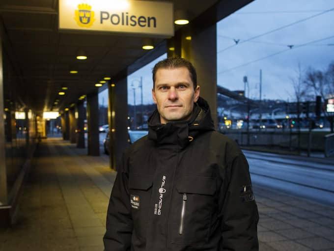 Magnus Lindegren, chef på polisens bedrägerisektion i Göteborg. Foto: Anders Ylander