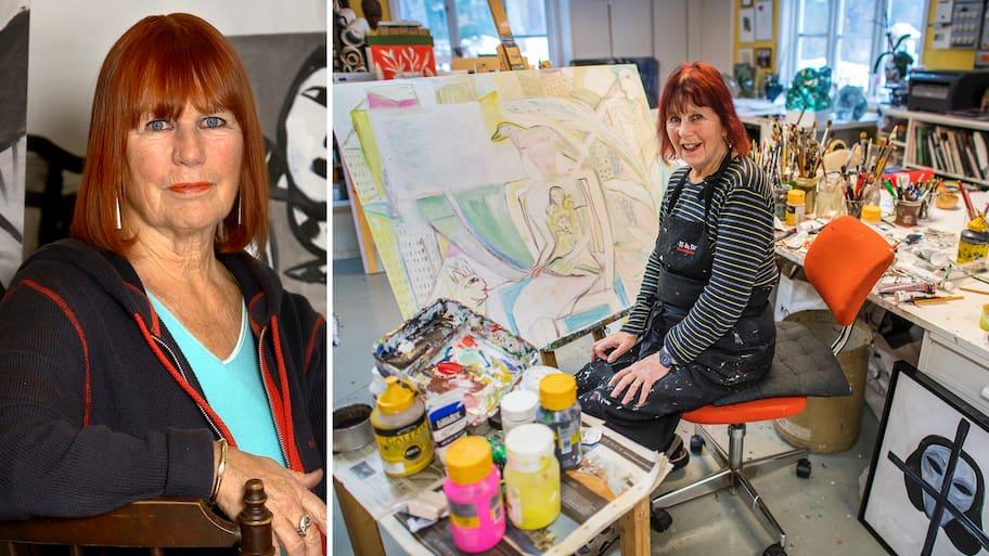 Konstnärsparet Ulrica Hydman och Bertil Vallien fann varandra på konstfack