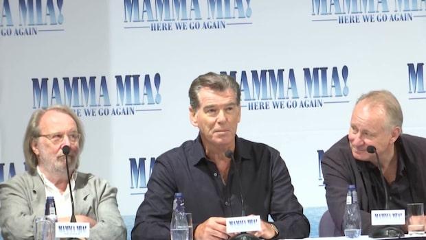 Expressen träffar stjärnorna i Mamma Mia!-filmen