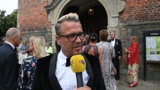"""Ulf Ekberg på Ledins bröllop: """"Håller allt hemligt"""""""
