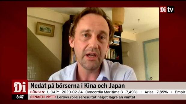 """Nylander: """"Milda reaktioner överlag på marknaderna i Asien"""""""