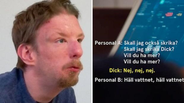 Systematiska övergrepp på  boenden – Dick kränktes