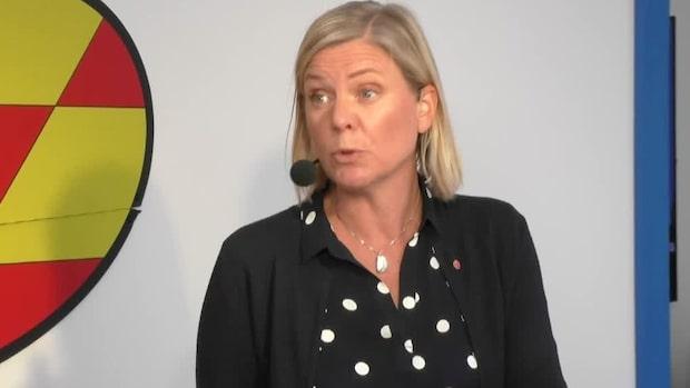 """Magdalena Andersson (S): """"C och L är tuffa – men det är jag också"""""""
