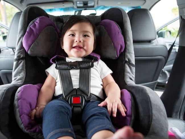 Visste du att din bilbarnstol är en riktig bakteriebomb?
