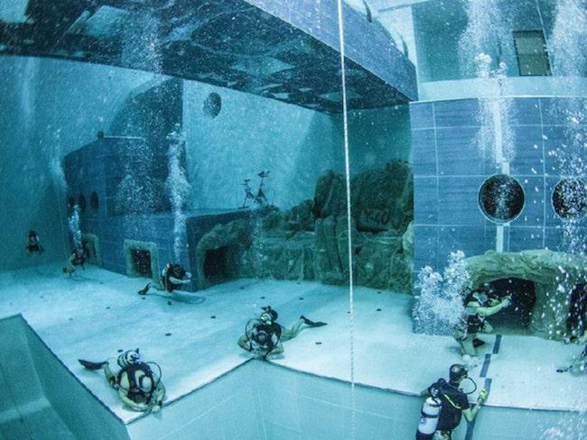<span>Även dykning med tuber och undervattensfotografering sker här.</span>