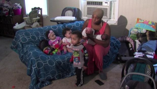 Tjugoåringen har fött sex barn – på två år