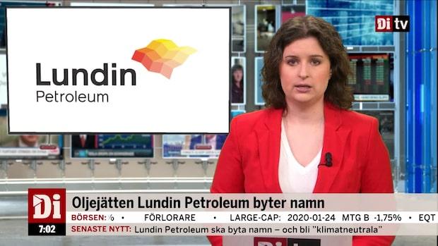 Di Morgonkoll 27 januari - Lundin Petroleum byter namn