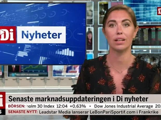 Di Marknadsnytt: Stockholmsbörsen rekylerar upp veckans sista handelsdag