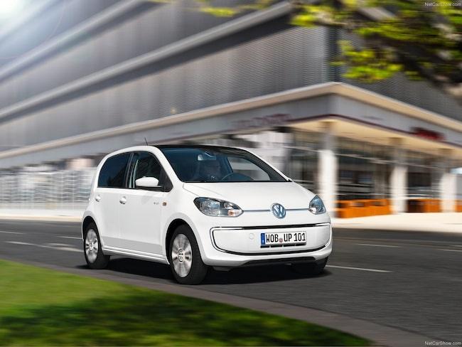Snabbast säljer Volkswagens lilla e-UP.