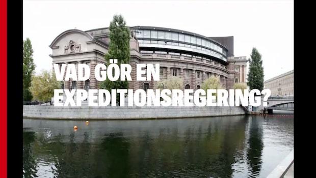 Så styrs Sverige i väntan på en ny regering