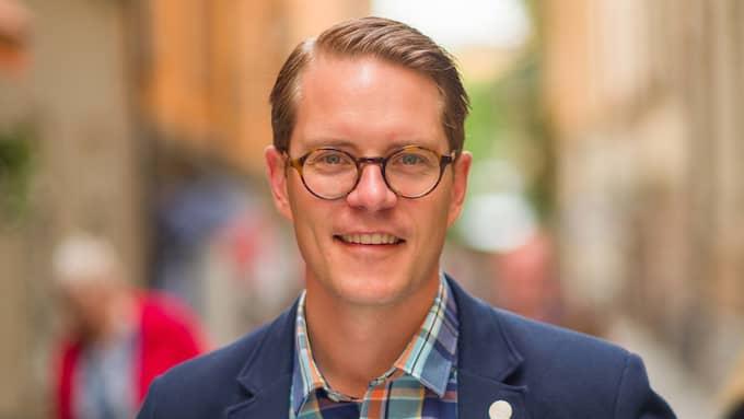 Lars Hjälmered (M), näringspolitisk talesperson och riksdagsledamot från Göteborg. Foto: PRESSBILD