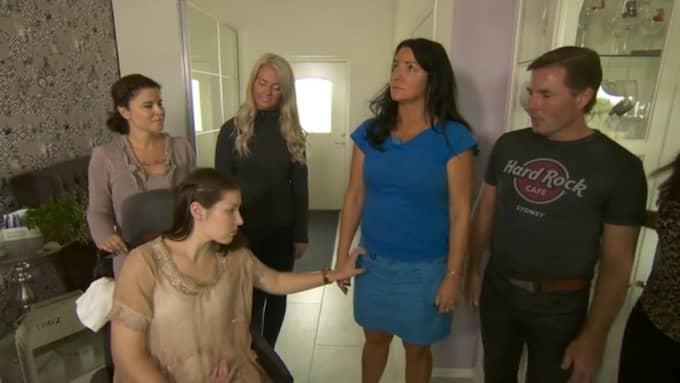 Här får Nicole kontakt med Sofia Foto: Kanal 5