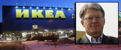 Sparkad. Per kaufmann, generaldirektör för Ryssland och östeuropa och Ikea Rysslands högsta chef. Fick sparken i fredags kväll.