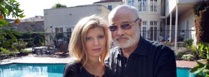 Sångerskan Margareta Svensson och Whithey Houstons sångpedagog Seth Riggs sörjer sin vän. Foto: Thomas Engström