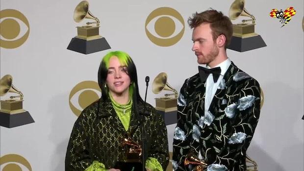 Billie Eilishs ord efter Grammys-succén