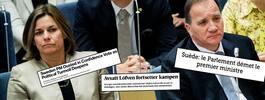 """""""Premiärministern avsatt – turbulensen fördjupas"""""""