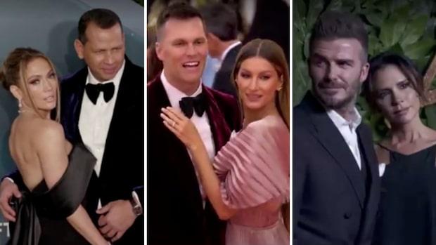 Tio sportstjärnor som hittat kärleken med en kändis