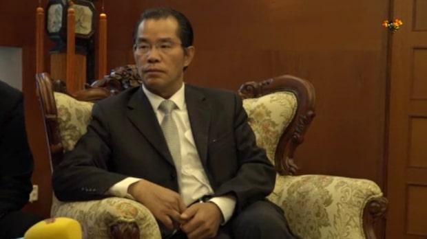 """Kinas ambassadör om händelsen: """"Kräver att poliserna bestraffas"""""""