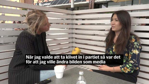 Yasmine Eriksson är SD:s nya ansikte utåt