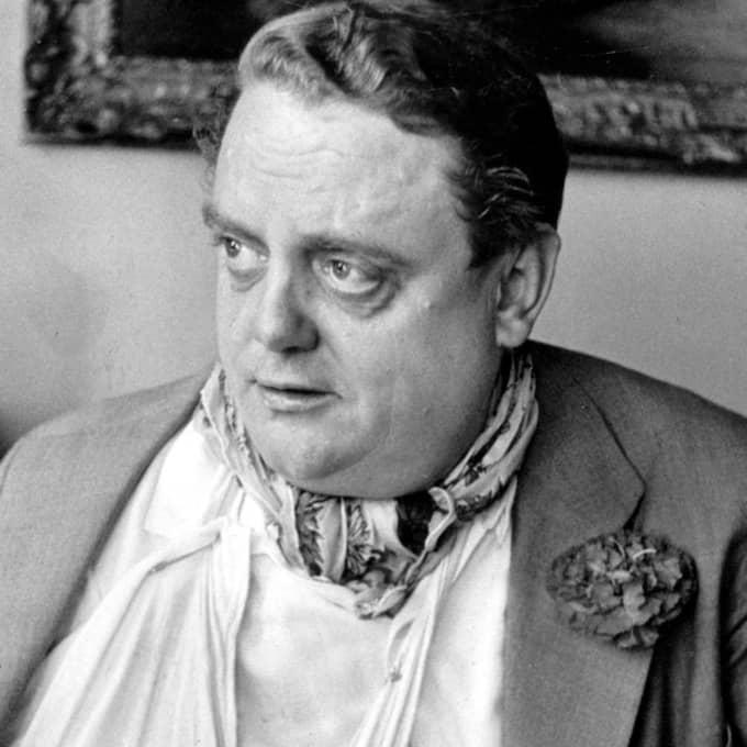 Johnny Bode var ökänd för att han smet från krognotor och skrev snuskiga visor. Foto: Olle Wester