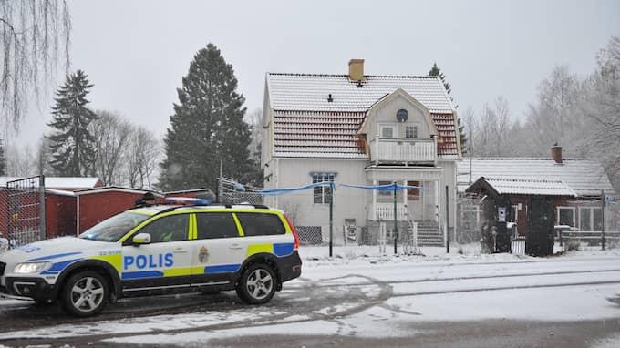 Det misstänkta mordet inträffade vid Hells Angels fastighet i Karlstad. Foto: David Hårseth