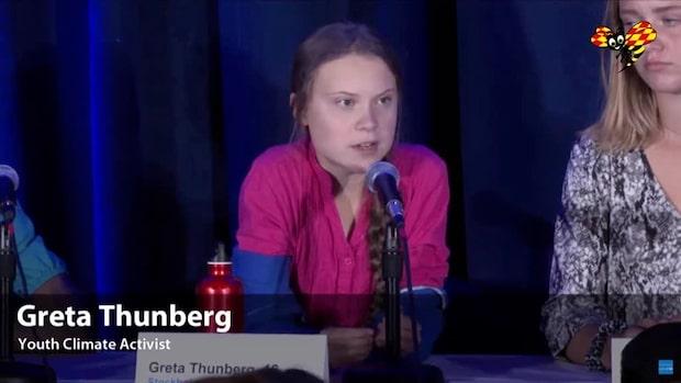 """Greta Thunberg: """"Vårt budskap är att vi har fått nog"""""""