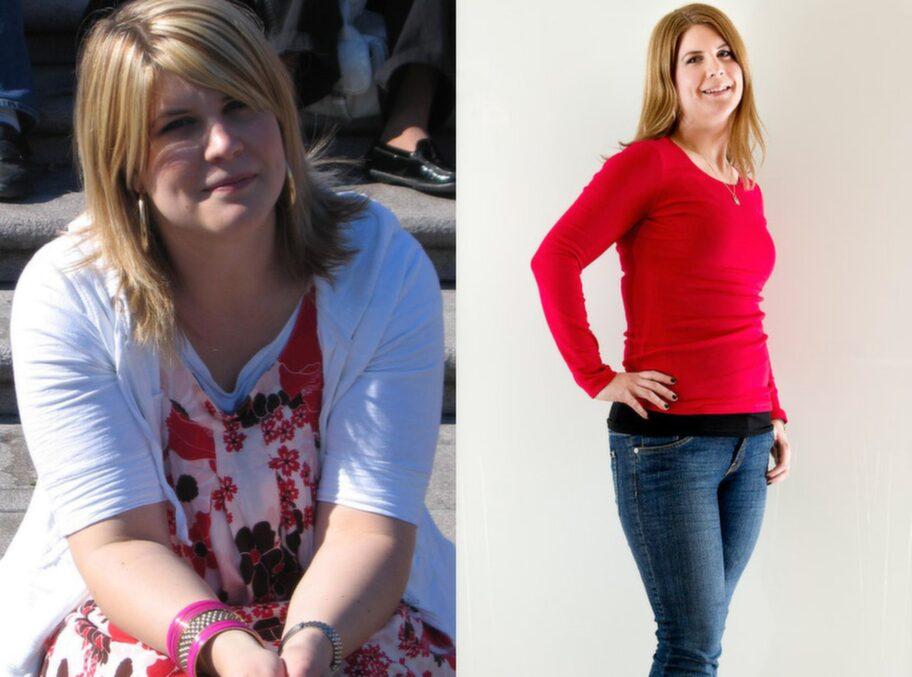 gått ner i vikt utan anledning